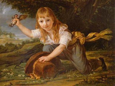 Portrait of Paulin des Hours Farel, 1793