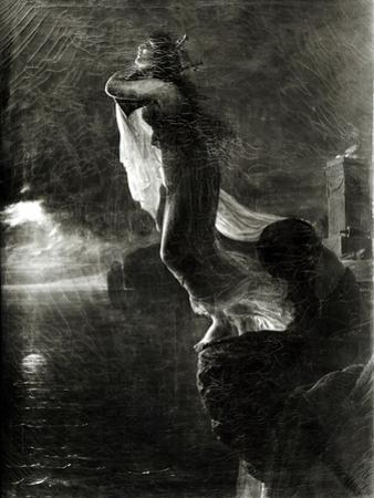 Sappho and Leucade, Also Known as the Death of Sappho