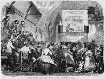 Puppet Show in Maurice Sand's Studio, 1870