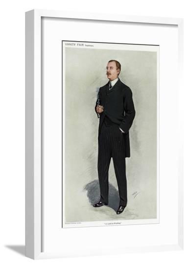 Baron Herschell, VFair 10--Framed Giclee Print