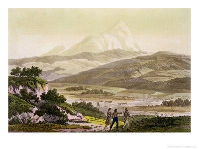 Mount Cayambe, Ecuador, Le Costume Ancien et Moderne, c.1820