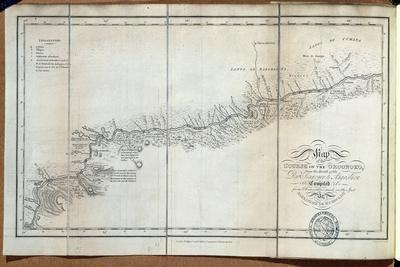 T.1608 Map of the Course of the Oroonoko from the Mouth of the Rio Sinaruco to Angostura, from…