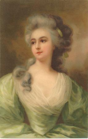 Baroque Portrait of Lady