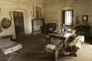 Barracks at La Purisima Mission State Park in Lompoc California