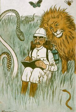 Rudyard Kipling by Barrere