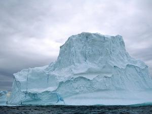 Iceberg, Witless Bay Ecological Reserve, Newfoundland, Canada by Barrett & Mackay