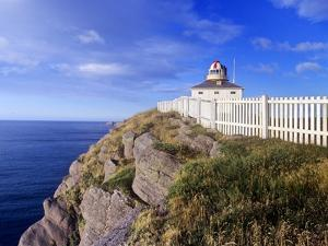 Lighthouse at Cape Spear National Historic Site, Newfoundland, Canada. by Barrett & Mackay