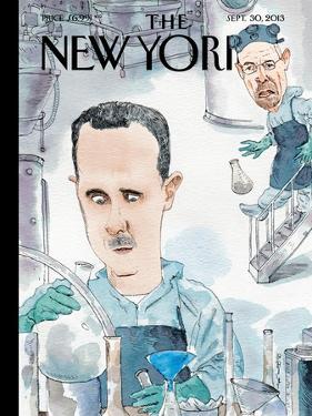 Bad Chemistry - The New Yorker Cover, September 30, 2013 by Barry Blitt