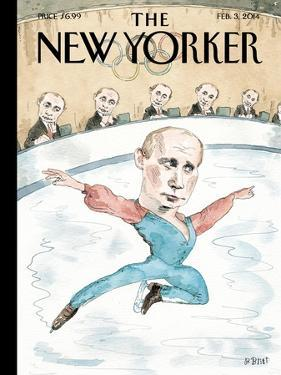 Jury of His Peers - The New Yorker Cover, February 3, 2014 by Barry Blitt