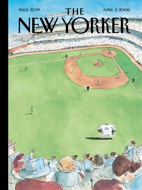 The New Yorker Cover - April 3, 2006 by Barry Blitt
