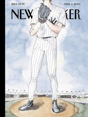 The New Yorker Cover - April 4, 2005 by Barry Blitt