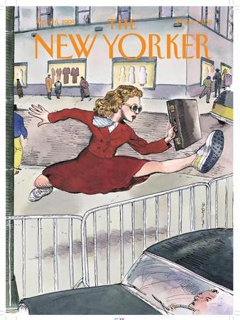 The New Yorker Cover - April 6, 1998