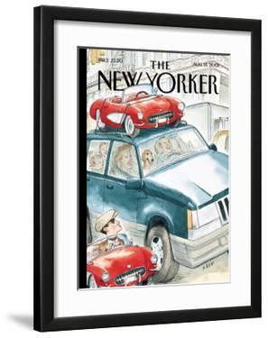 The New Yorker Cover - August 13, 2001 by Barry Blitt