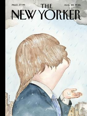The New Yorker Cover - August 22, 2016 by Barry Blitt