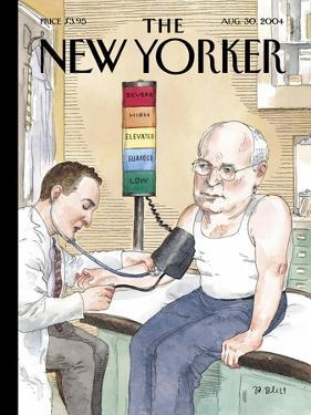 The New Yorker Cover - August 30, 2004 by Barry Blitt