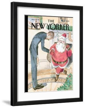 The New Yorker Cover - December 14, 2009 by Barry Blitt