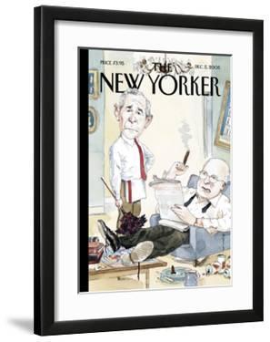 The New Yorker Cover - December 5, 2005 by Barry Blitt