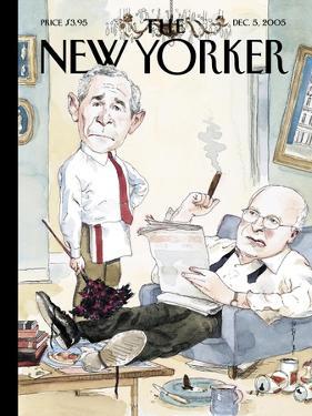 The New Yorker Cover - December 5, 2005 by Barry Blitt