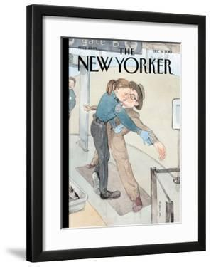 The New Yorker Cover - December 6, 2010 by Barry Blitt