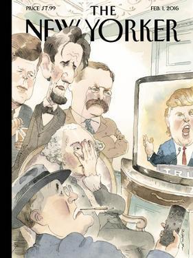 The New Yorker Cover - February 1, 2016 by Barry Blitt