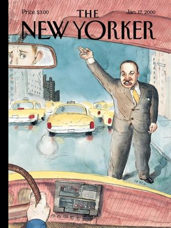 The New Yorker Cover - January 17, 2000 by Barry Blitt