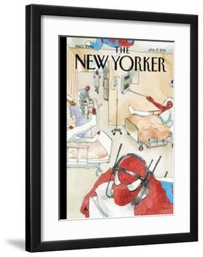 The New Yorker Cover - January 17, 2011 by Barry Blitt