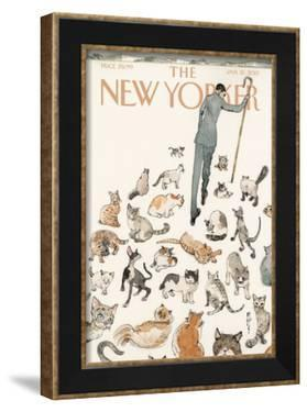 The New Yorker Cover - January 21, 2013 by Barry Blitt