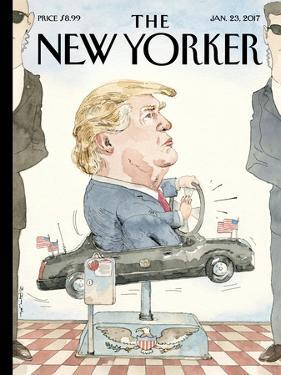 The New Yorker Cover - January 23, 2017 by Barry Blitt
