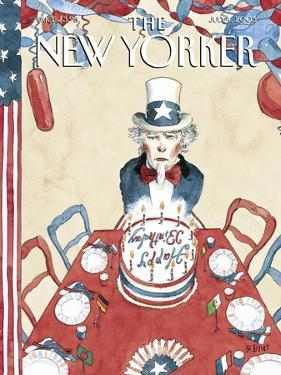 The New Yorker Cover - July 4, 2005 by Barry Blitt