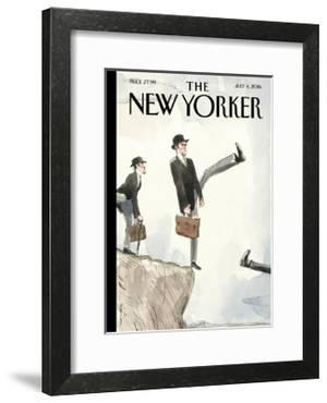 The New Yorker Cover - July 4, 2016 by Barry Blitt