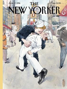 The New Yorker Cover - June 17, 1996 by Barry Blitt