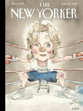 The New Yorker Cover - June 20, 2016 by Barry Blitt