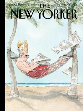 The New Yorker Cover - March 11, 2013 by Barry Blitt
