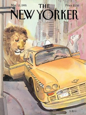 The New Yorker Cover - March 13, 1995 by Barry Blitt