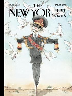 The New Yorker Cover - March 14, 2011 by Barry Blitt