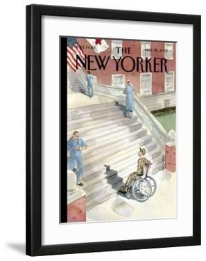 The New Yorker Cover - March 26, 2007 by Barry Blitt
