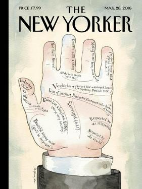The New Yorker Cover - March 28, 2016 by Barry Blitt