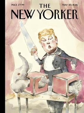 The New Yorker Cover - May 23, 2016 by Barry Blitt