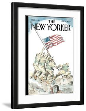 The New Yorker Cover - May 28, 2007 by Barry Blitt