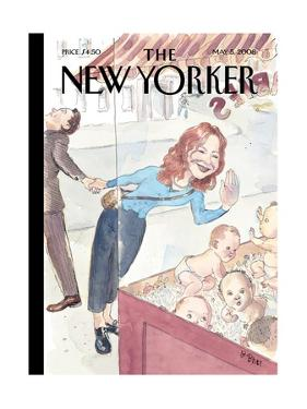The New Yorker Cover - May 5, 2008 by Barry Blitt