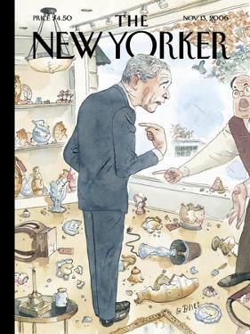 The New Yorker Cover - November 13, 2006 by Barry Blitt