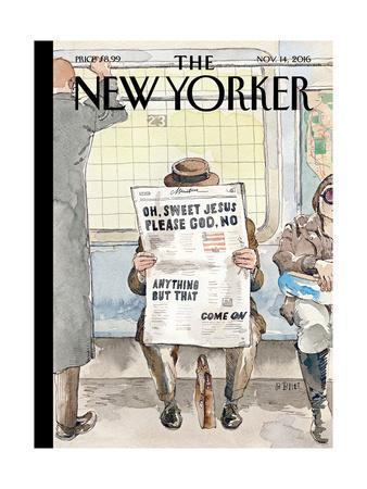The New Yorker Cover - November 14, 2016