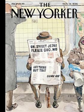 The New Yorker Cover - November 14, 2016 by Barry Blitt
