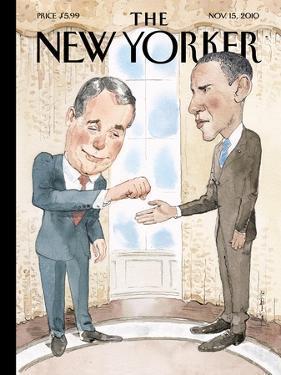 The New Yorker Cover - November 15, 2010 by Barry Blitt