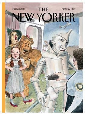 The New Yorker Cover - November 16, 1998 by Barry Blitt