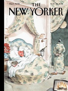 The New Yorker Cover - November 26, 2012 by Barry Blitt
