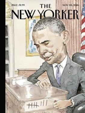 The New Yorker Cover - November 28, 2016 by Barry Blitt