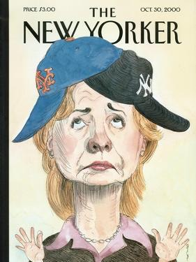 The New Yorker Cover - October 30, 2000 by Barry Blitt