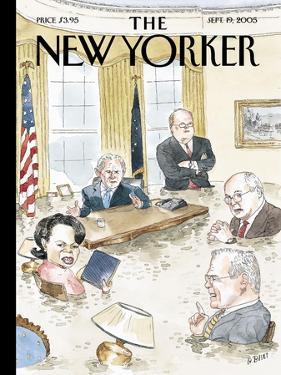 The New Yorker Cover - September 19, 2005 by Barry Blitt