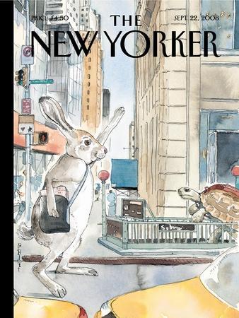 The New Yorker Cover - September 22, 2008